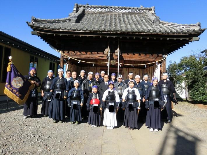 土屋氷川神社集合写真